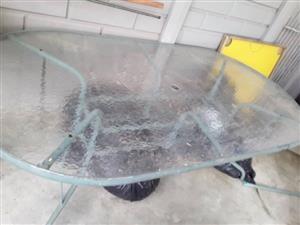 Glas tafel