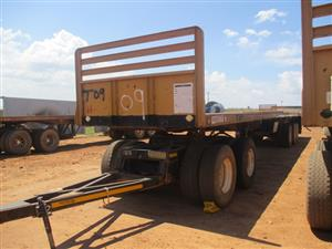 27 Ton Trailers and other Machinery in MHPS Online Auction