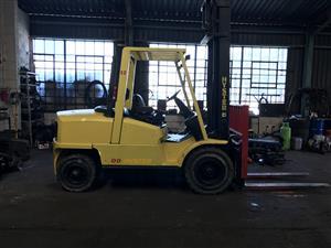 5 ton hyster forklift diesel