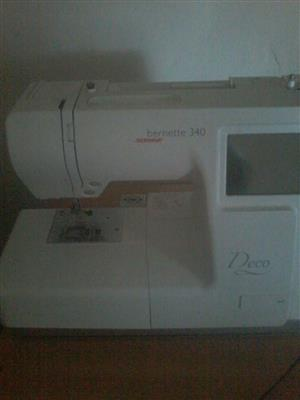 Embroidery machine Bernina Bernette deco 340