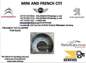Peugeot 107 speedometer for sale