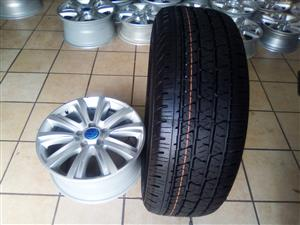 18 inch Amarok rims with brand new 265/60/18 Continental cross contact R14000 set.