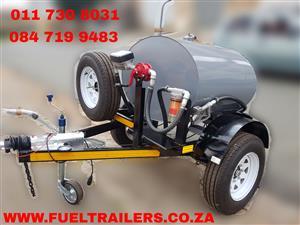 500 Liters diesel bowser trailer