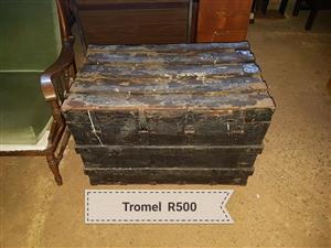 Antieke hout trommel Te koop