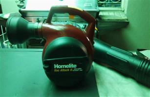 Homelite Vac Attack II 200 MPH Blower/Vac