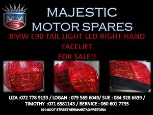 BMW E90 TAIL LIGHT RIGHT HAND SIDE FOR SALE
