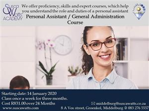 Personal Assistant/ General Administration