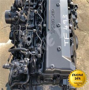 ISUZU TRUCK ENGINE 4HF1/4HG1