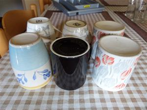 6 ASORTED CUPS