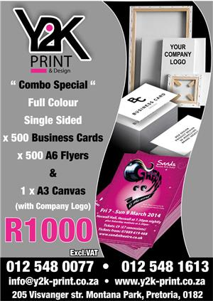 Printing specials