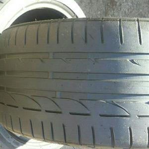good quality tyres sizes 275/45/18 Run Flat Bridgestone