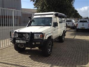 2011 Toyota Land Cruiser 78 4.2D wagon