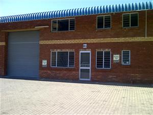 Neat Spacious Industrial Unit in a secure Industrial Park