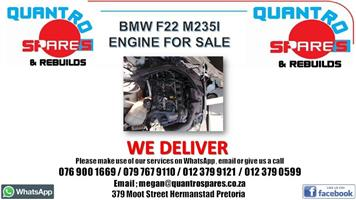 Bmw f22 m235i engine for sale