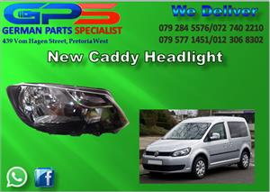 NEW VW CADDY HEADLIGHT FOR SALE