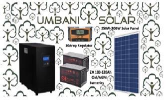 3kW Pure sinewave inveter +100ah CSB Gel Batteries+Chargecontoller+ 250W Polycrystalline Solar Panel