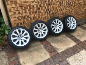 BMW 17 Inch Mags Rims 5x120