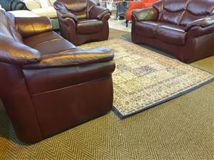 Genuine Leather Upper 321 Lounge suite R 12900