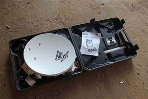 Camping DSTV dish for caravan
