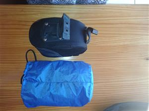 Bicycle Saddle Bag with cover