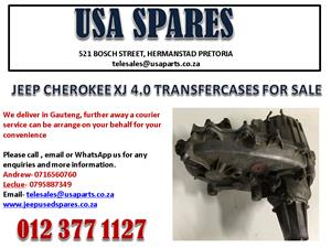 JEEP CHEROKEE XJ 4.0 TRANSFER CASE FOR SALE. USA SPARES