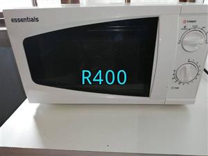 Essentials microwave for sale