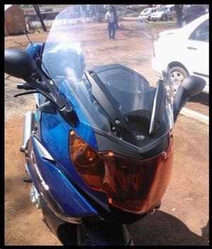 War Eagle Racing Motorcycle Screens and Fairings BMW K1600GT Hi Rise Screen