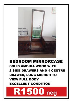 BALL & CLAW BEDROOM MIRRORCASE