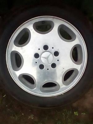 Mercedes benz alloy rims