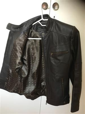 Leather jacket for sale.