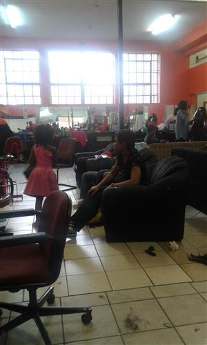 "A BIG HAIR SALON FOR SALE - ""CASH FLOW OF OVER R30K MONTHLY"""