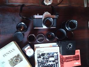 Vintage 1975 Pentax SP Camera