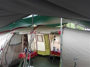 Camp master tunnel 8 tent.  ONLY THE TENT