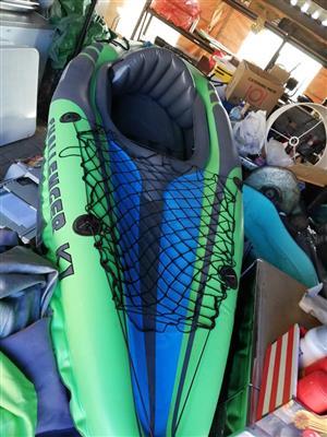 Intex Challenger K1 Canoe. Brand New
