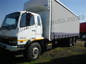 2010 Fuso FM 16-253 4×2 Curtain side used truck – AA3100