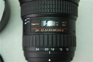 Tokina AT-X124 Wide-Angle AF PRO DX II 12-24mm F/4.0 for Nikon