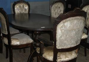 7 piece dining room suite S033301A #Rosettenvillepawnshop