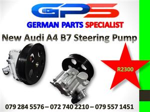 NEW AUDI A4 B7 STEERING PUMP FOR SALE
