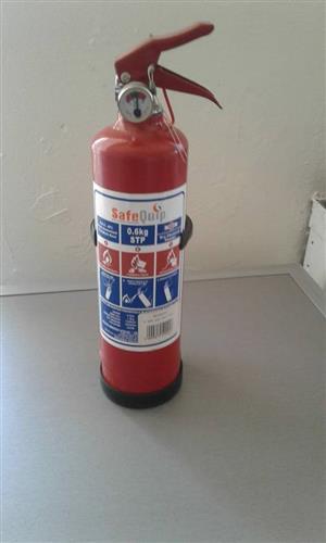 Safequip fire extinguisher