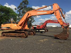 Doosan 300LCU 30 Ton 2005/8 Excavator Pre-Owned Other
