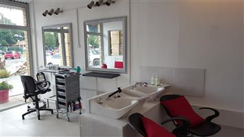 Small hair studio