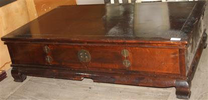 S033839B Brown coffee table #Rosettenvillepawnshop