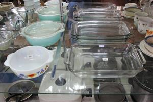 Glass tart dishes