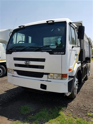 2007 Nissan UD440 , 10Cube tipper truck for sale