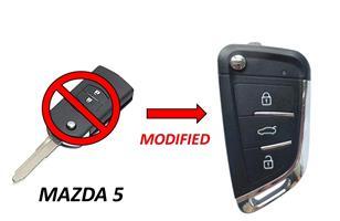 Mazda 5 Key SPARE