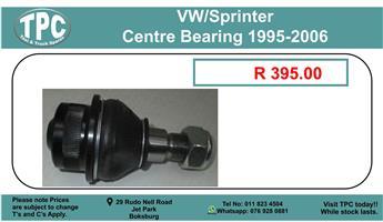 Vw/Sprinter Centre Bearing 1995-2006 For Sale.