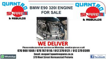 Bmw e90 320i engine for sale