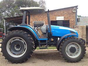 Blue Landini Legend 115 82kW/110Hp 4x4 Pre-Owned Tractor