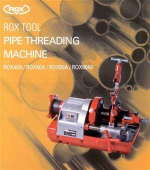 Rox 80A-Dx Pipe Threading Machine