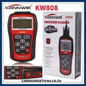 KW808 KONNWEI EOBD OBD2 OBDII Auto ENGINE Scanner NOW IN STOCK!!
